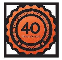 40 Franquias / +1500 condomínios administrados.